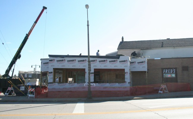 Burger haven to get more seating,  a new kitchen