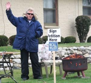 Recall effort has a visible presence in conservative Burlington area