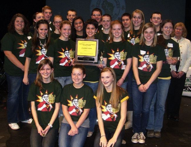 WHS Academic Bowl team captures first place