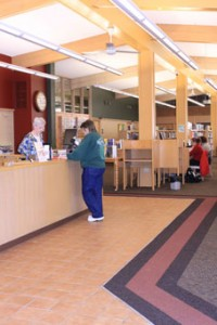 Come in and enjoy the Graham Public Library's new look