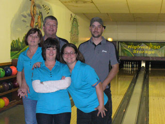 Trophy winner of Bowling Battle of the Businesses announced
