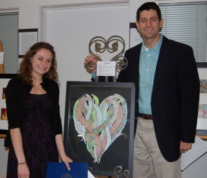 BHS artist wins congressional district contest