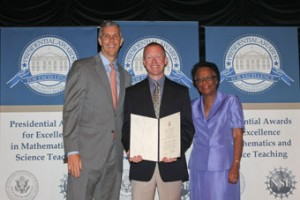 Local teacher honored with Presidential Award