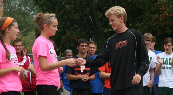Burlington runners win Fox Trot