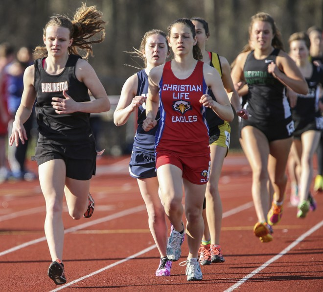 Burlington's Mather, Ehlen win regional track titles