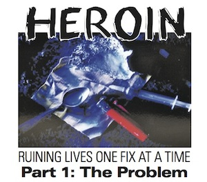 How a young heroin addict operates