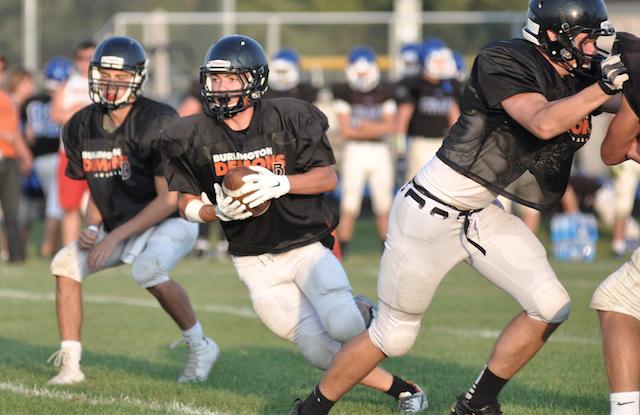Tenhagen era begins for Burlington football