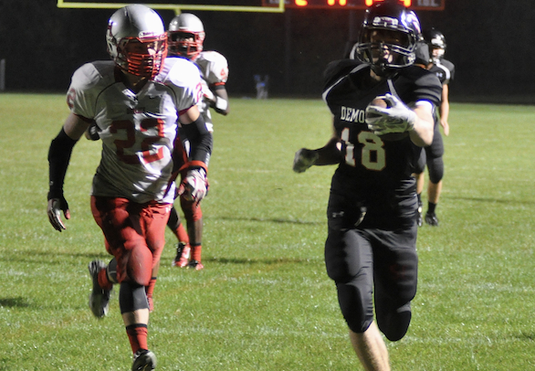 Horlick scores late, drops Burlington football to 0-2