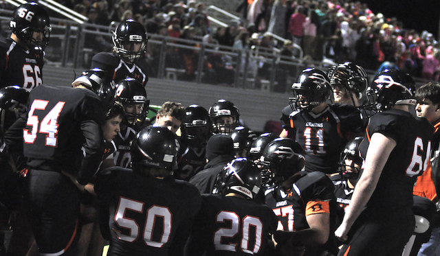 Advance tickets for Burlington-Wilmot playoff football on sale