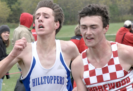 Catholic Central runners overcome adversity for strong showing