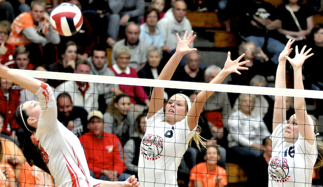 City volleyball squads cruise to sectionals