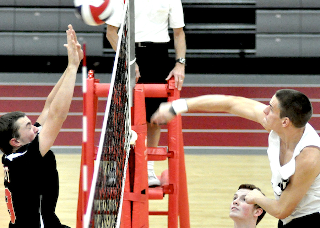 Burlington volleyball keeps rolling, still No. 1