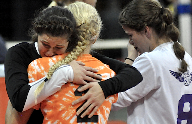 STATE VOLLEYBALL: Burlington drops heartbreaker in five games