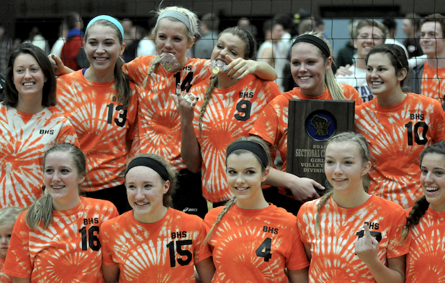 Burlington volleyball has one goal – win it all