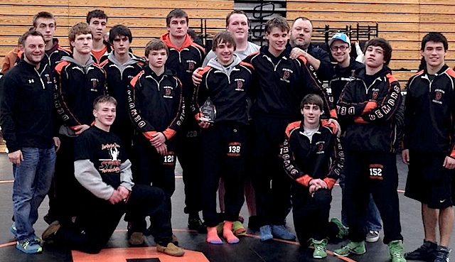 Burlington wrestling cruises to Demon Invite title