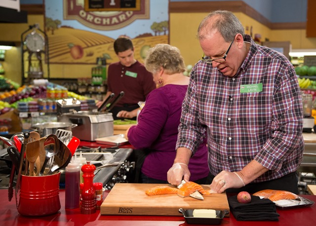 Gooseberries chef joined by family in TV cooking contest
