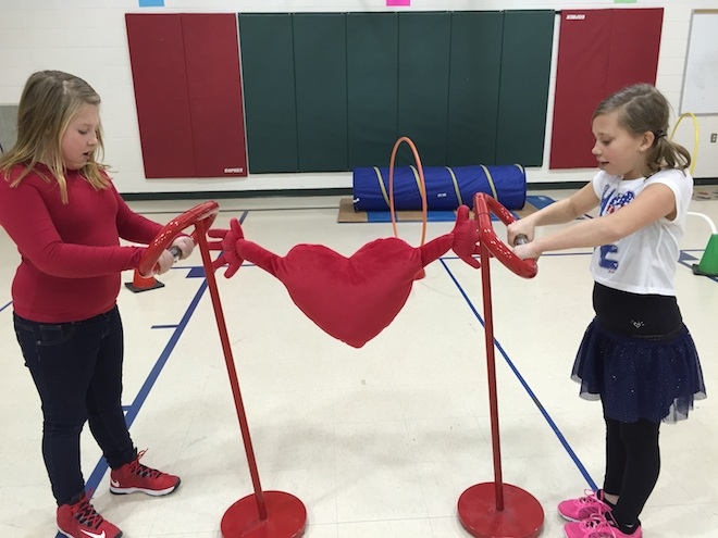 Students honor teacher who died by raising funds for heart association