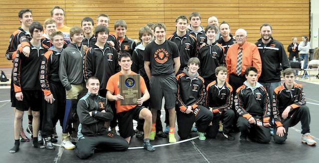 Burlington wrestling captures fourth straight team state berth
