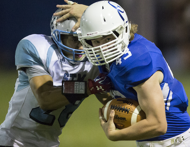 ALL-AREA FOOTBALL: Catholic Central two-way star Kresken takes crown