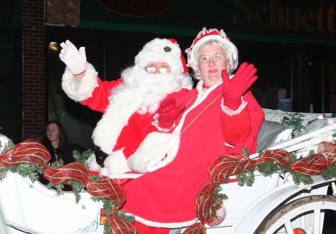 Parade will kick off weekend of holiday events