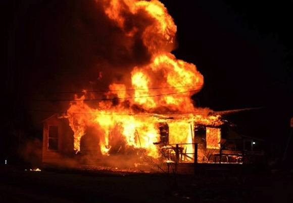 Family displaced after Christmas fire