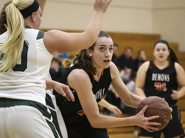 Burlington roughs up rival for 3rd straight win