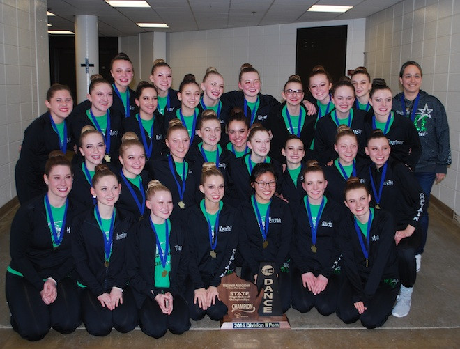 After long wait, Waterford poms bring home state title