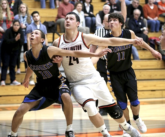 Mutter's buzzer beater lifts Burlington past Wilmot, sets up rivalry rematch