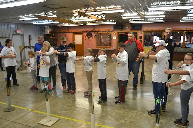 Archery program joins 'Cops and Kids' events