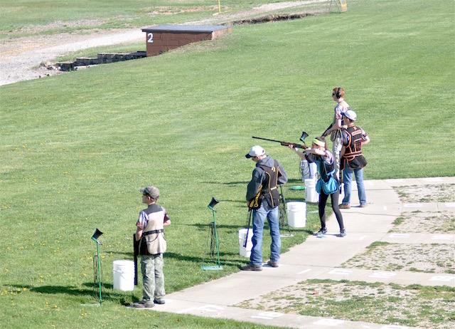 Burlington trap shooting team captures 1st place