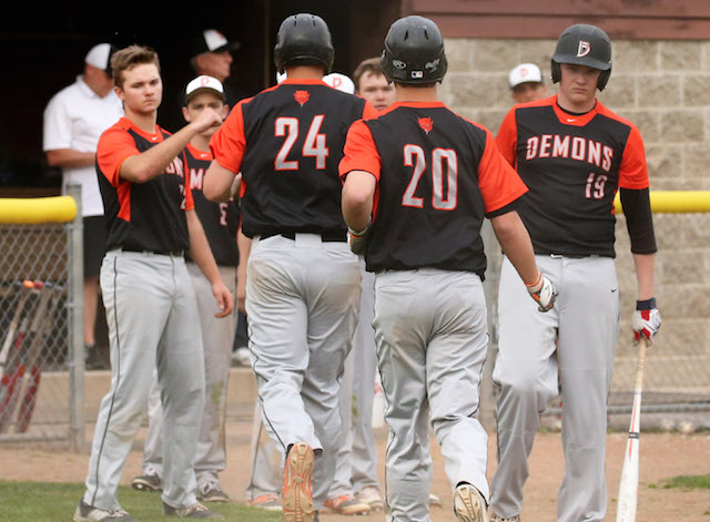 Winning the arms race: Burlington baseball loaded with pitching
