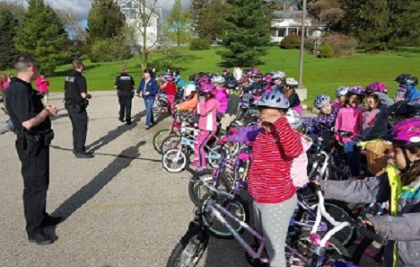 Take your bike to school day
