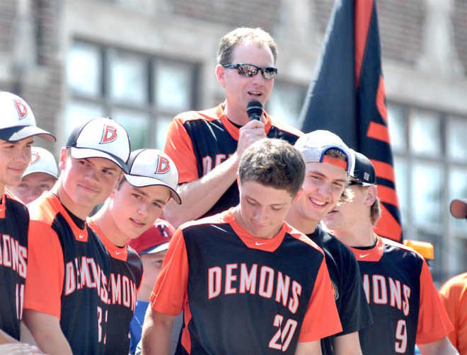 COACH OF THE YEAR: Burlington's Staude won school's first baseball state title