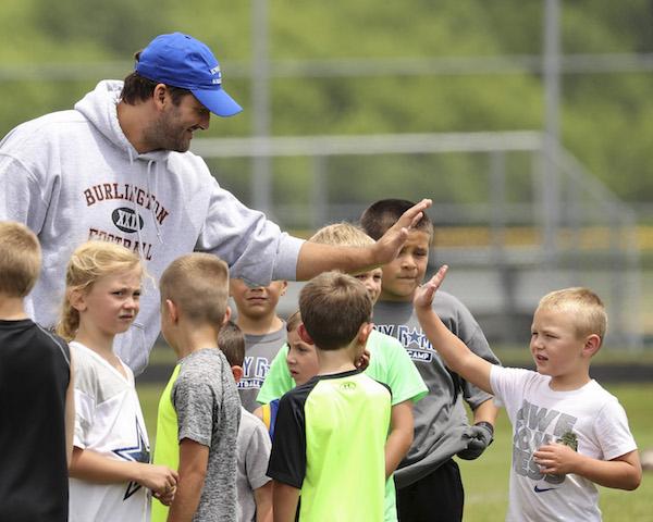 Tony Romo's return to Burlington comes at a unique time