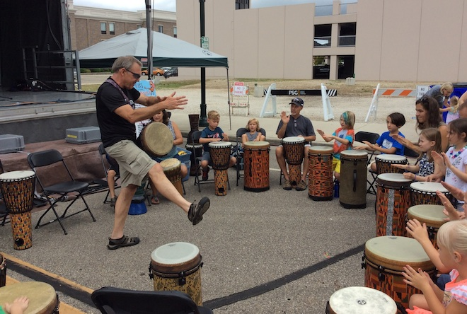 Drumming up tall tales