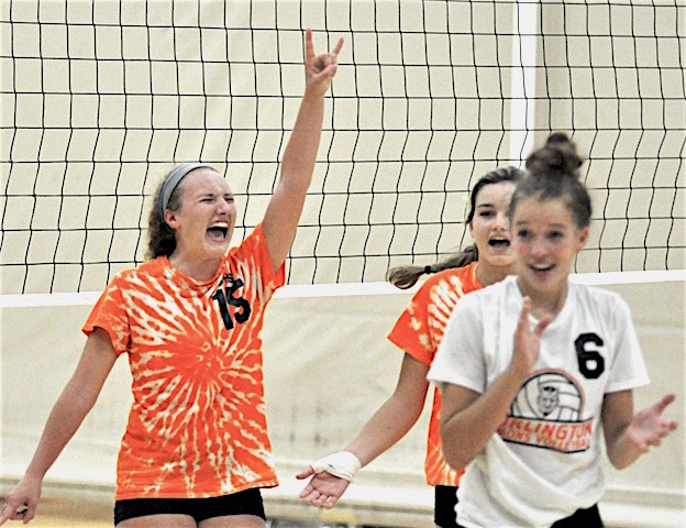 New-look Burlington volleyball plans to rule again
