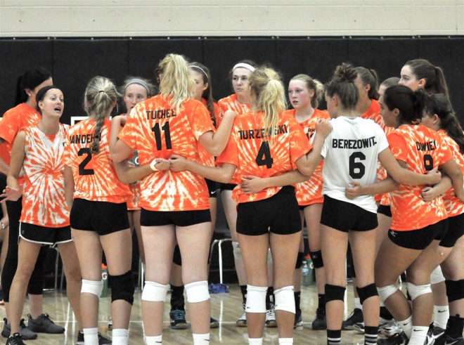 Burlington volleyball wins another invite, earns state recognition