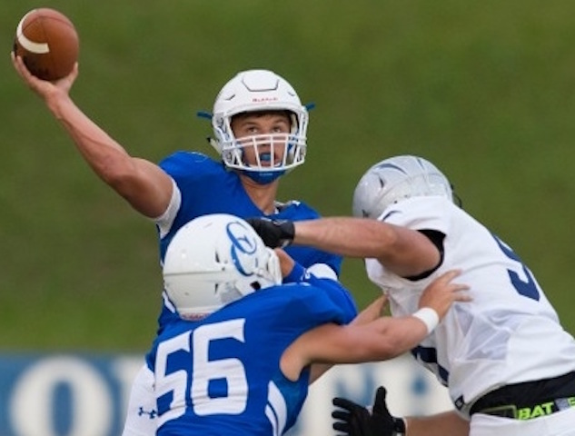 Getting defensive: Catholic Central 'D' forces 5 turnovers in 1st victory