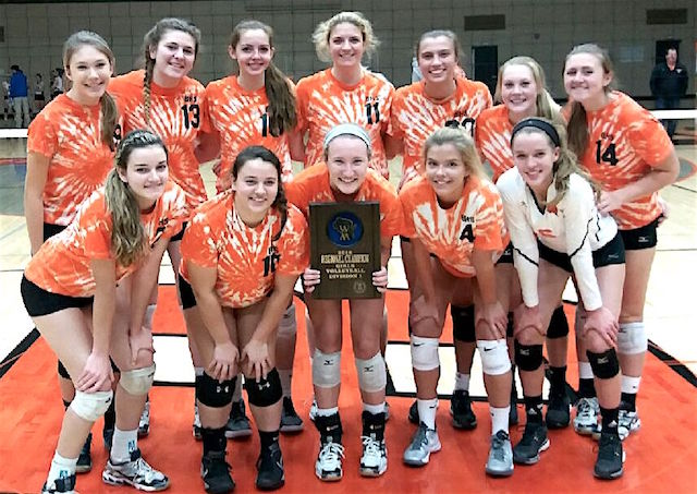 Burlington volleyball secures 15th straight regional championship