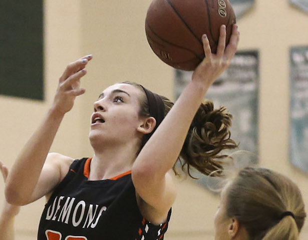 Burlington girls basketball cruises past Kenosha Bradford
