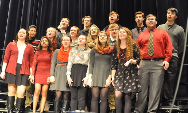 VIDEO: Merry Christmas from the BHS A Cappella Choir