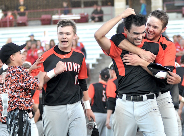 SPORTS STORIES OF THE YEAR: 1. Burlington baseball wins state