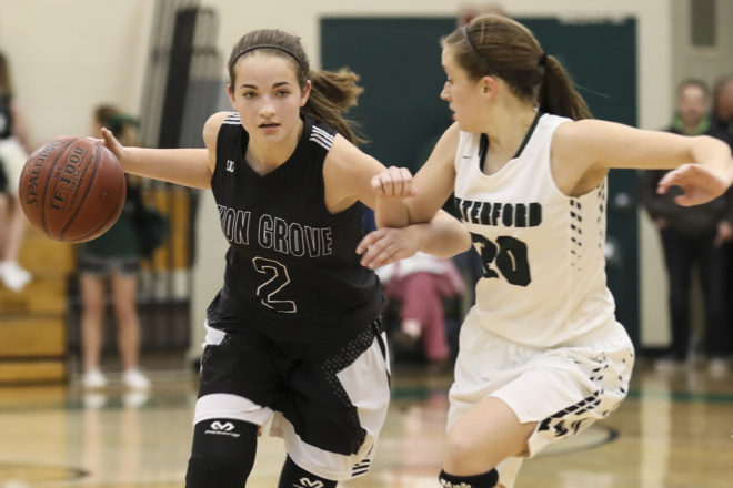 Union Grove basketball girls drop 81 in victory