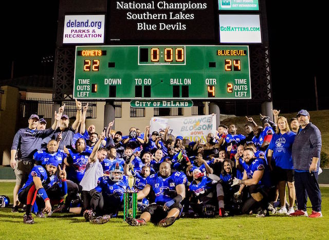 Southern Lakes Blue Devils win national bowl game