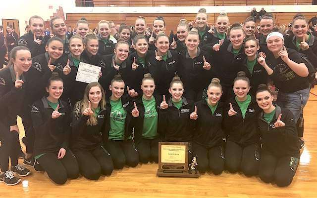 Waterford dance squad makes history at state