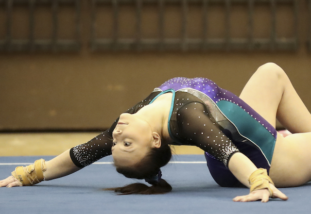 BBW gymnastics lands season high