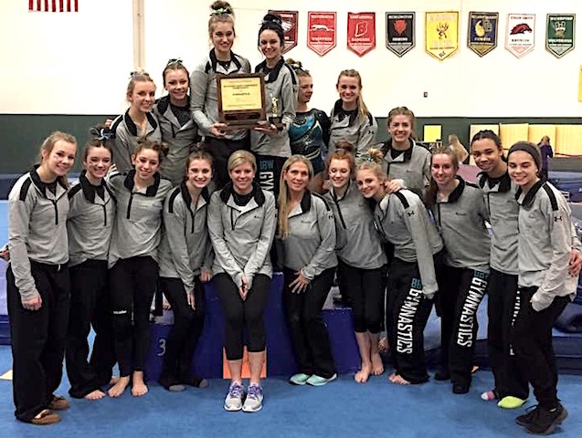 BBW gymnastics captures 8th straight conference championship