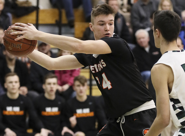 Winona State commit Klug leads title contender Burlington