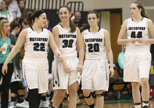 Outmuscled and outhustled: Anderson, Rohner lead Waterford to playoff victory