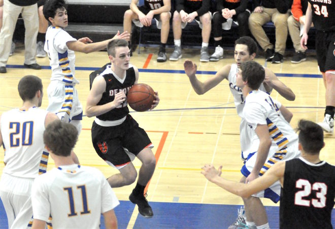 Burlington dismantles Delavan, keeps pace in SLC race